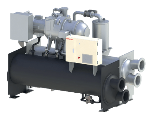 direct drive centrifugal chiller for cooling system