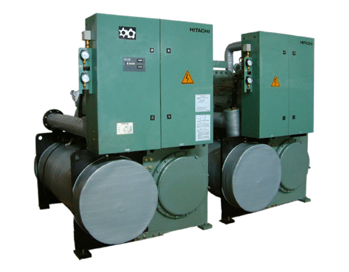water cooled screw chiller for cooling system