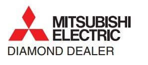 mitsubishi electric diamond dealer logo